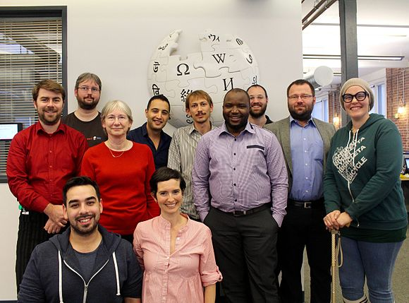 Funds Dissemination Committee November 2015 at Wikimedia Foundation Office.jpg
