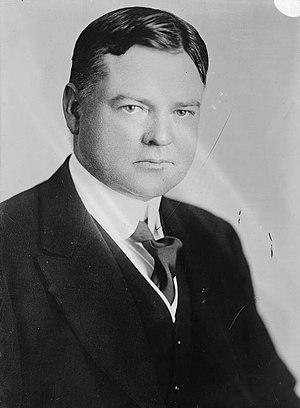 Herbert Hoover photo portrait.