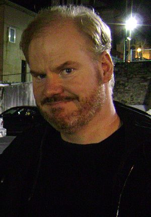 English: Stand-up comedian Jim Gaffigan after ...
