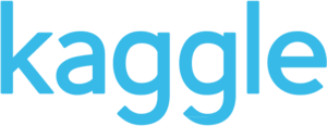 English: Kaggle logo