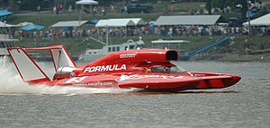 2008 winner of the Madison Regatta, Formulaboa...