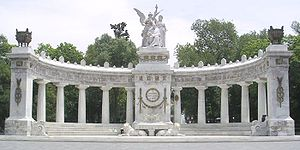 Monument to Juárez, Mexico City.
