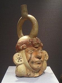 Moche portrait vessel  Wikipedia