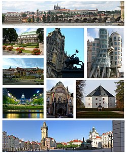 Montage of Prague