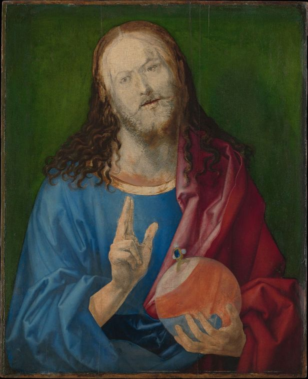 Salvator Mundi MET DP164819