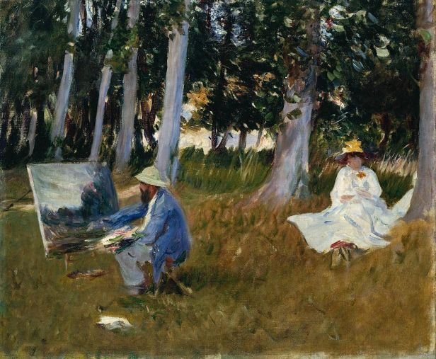 Sargent Monet Painting