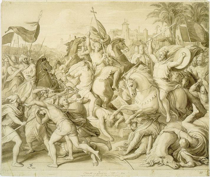 File:Schnorr von Carolsfeld - Die Schlacht von Iconium.jpg