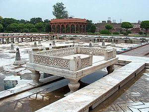 The second level of the Shalimar Gardens Also ...