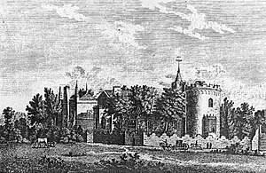 "Strawberry Hill, an English villa in the ""..."