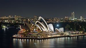 A exposure blended photo of the Sydney Opera H...