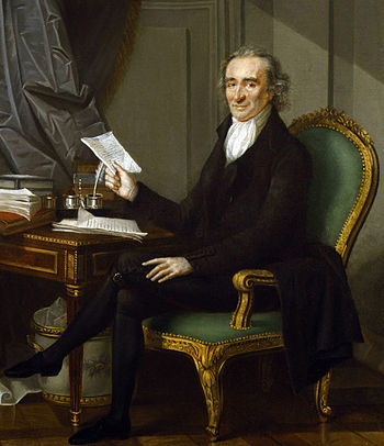 Thomas Paine (by Laurent Dabos)
