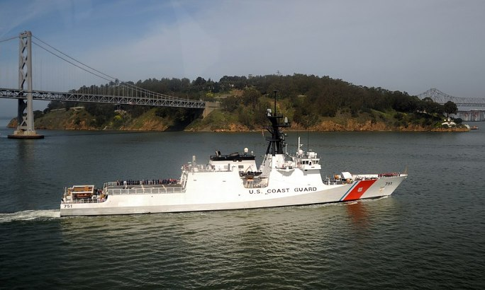 USCGC Waesche by Yerba Buena Island