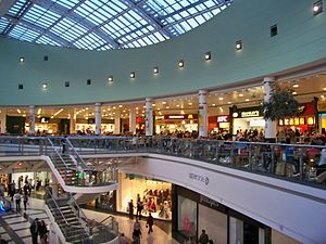 The White Rose Centre food court. Taken on the...