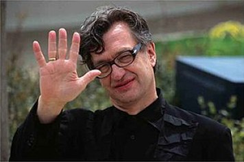 Film director Wim Wenders, who shot the docume...