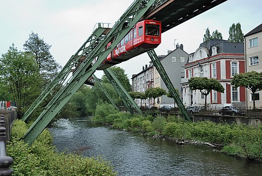 Wuppertal schwebebahn - A road trip through Germany, and other ways to pass the time (Part 1): Wuppertal and Cologne