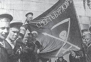 Revolutionary Russian sailors of Russian Imper...