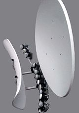 satellite dish tracking 1