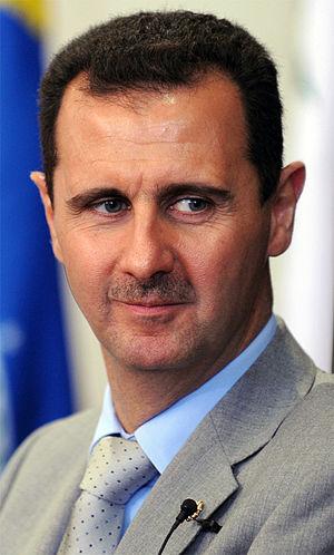 English: Brasilia - The president of the Syria...