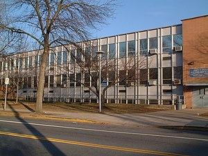 Charter School of Wilmington side entrance