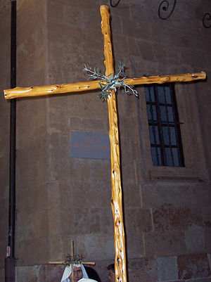English: Cross of the Brotherhood of Christ of...