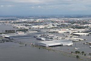 Flooding of Rojana Industrial Park, Ayutthaya,...