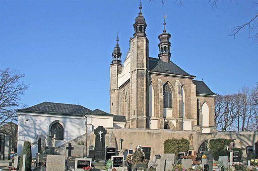 Hřbitovní kaple Všech Svatých v Sedlci u Kutné Hory