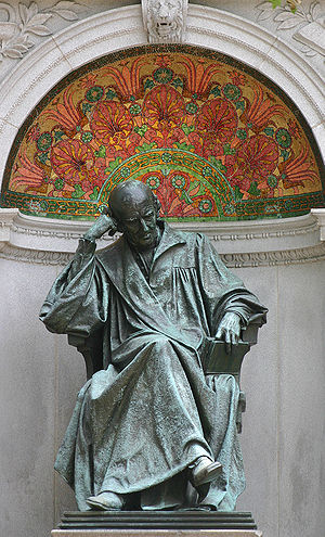 Samuel Hahnemann Memorial at Scott Circle in W...