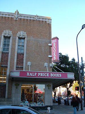 Half Price Books in downtown Berkeley, California.