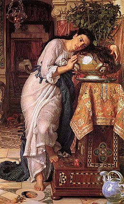 Hunt, William Holman — Isabella and the Pot of Basil — 1867