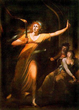 The sleepwalking Lady Macbeth
