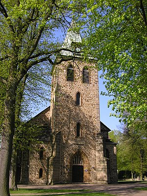 Church in Löhne, District of Herford, North Rh...