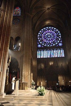 Notre Dame messe