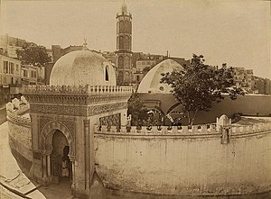 English: Entrance to the Mosque of the Pasha, ...