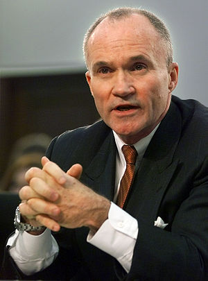 NYPD Commissioner Raymond Kelly