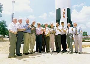 Members of the original Von Braun German rocke...