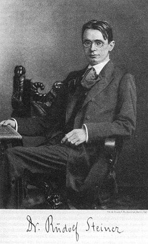 Deutsch: Rudolf Steiner im Jahre 1900 (Angabe ...