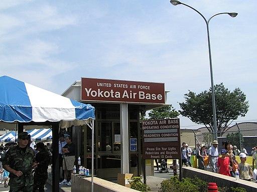 US Yokota Air Base 1 Tokyo Japan