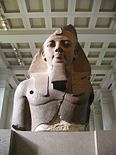 File:BM, AES Egyptian Sulpture ~ Colossal bust of Ramesses II, the 'Younger Memnon' (1250 BC) (Room 4).jpg