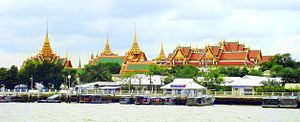 English: Grand Palace, Bangkok, Thailand as se...