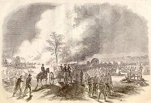 Battle of Fair Oaks Franklin's corps retreating.jpg