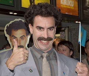 Borat bei der Deutschland-Premiere in Köln