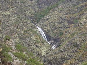 Fisgas de Ermelo waterfall, Portugal