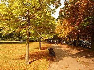 English: Greenwich: an autumny feel in Greenwi...