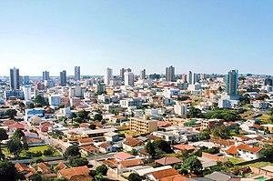 Panorâmica de Guarapuava em 2005