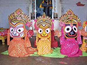 Lord Jagannath, Orissa