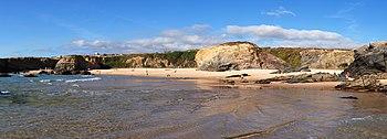 English: The beach of Cerca Nova. Porto Covo, ...