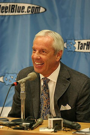 Roy Williams at a Press Conference for the Uni...