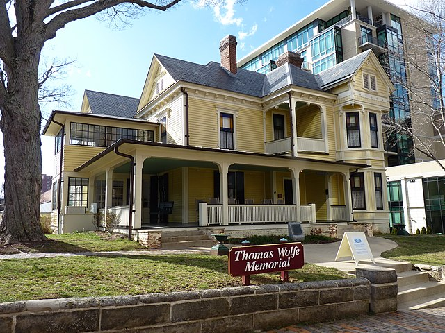 Thomas Wolfe House in Asheville, North Carolina