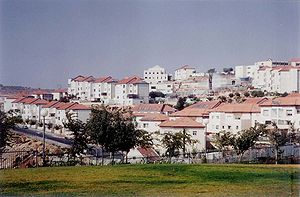 View of Beitar Ilit, Israel