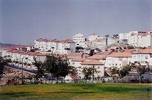 View of Beitar Ilit, Israel